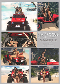 [ Focus Poses ] Summer Jeep ( girls)