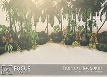 [ Focus Poses ] Tropical Backdrop