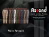 /Ascend/ Jack Cargo Pants - PLAIN FATPACK