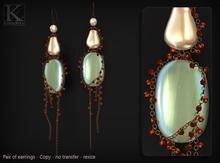 (Kunglers) Paty earrings - Pearl
