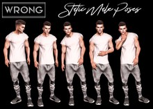 WRONG - Static Male Poses 2