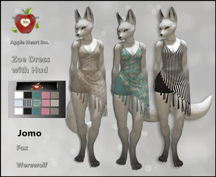 Apple Heart Inc. Jomo Zoe Dress with Hud