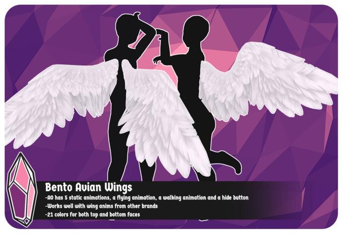 +Sugarcult+ Bento Avian Wings [colors]