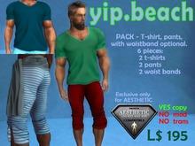 PACK 2 T-Shirt + 2 Pants + 2 waist bands