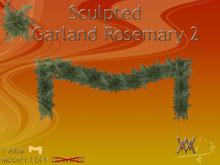 Garland Rosemary2 by Wild Motley
