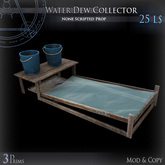 (Box) Water Dew Collector
