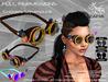 Full Perm-ZAFIA Goggles Steampunk