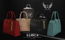 ::ALTER:: Bianca Bag with pose BLACK