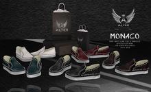 ::ALTER:: Monaco mens shoes SLINK & UNRIGGED - WHITE