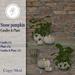 .::Hazeel::. Stone Pumpkin Candles & Plant