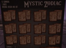 RARE - AsteroidBox. Mystic Zodiac - Rare Chart