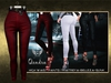 ::ALTER:: Qendra High Waist Pants / Maitreya, Belleza, SLink - RED