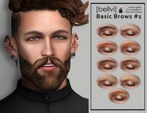 [bellvi] Basic Brows #1 Catwa Omega