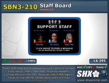 SHX-SBN3-210 Staff board online indicator