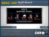 SHX-SBN5-200 Staff board online indicator