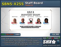 SHX-SBN5-X255 Staff board online indicator