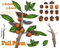 Autumn ACORN KIT  [ FULL PERM ]