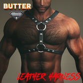[BUTTER] Leather Harness for Niramyth Aesthetic