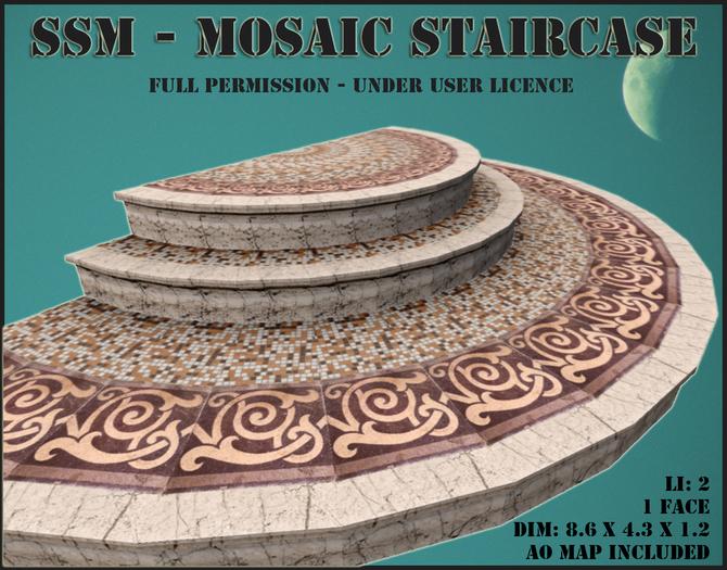 SSM - Mosaic Staircase