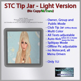 STC Club / DJ TipJar - Light [Transfer]