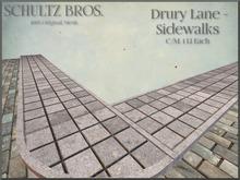 [Schultz Bros.] Drury Lane - Sidewalks