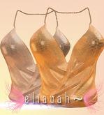 Eliavah ~ Calypso Tank [GOLD DISCO] (Maitreya, Slink, Belleza Isis & Freya)