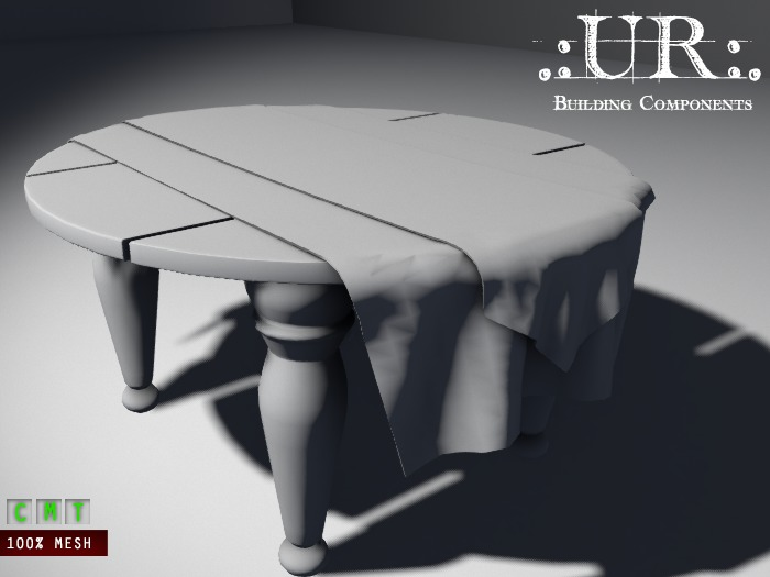 .:UR:. Halloween 2017 - Witch Table (full perm mesh)