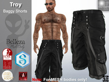 Troy Baggy Pants BLACK