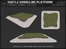 [AC] Subtle Shoreline Platform - Full Permissions