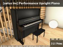 [satus Inc] Performance Upright Piano