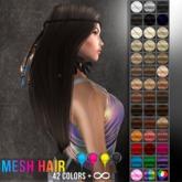 UA - Mesh Hair Native (UA Birthday)