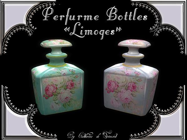 """""""CdT"""" Perfume Bottles """"Limoges"""""""
