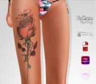 TSB ::: Tattoo Drop of a rose