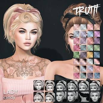 TRUTH Lady (Mesh Hair) - Candy