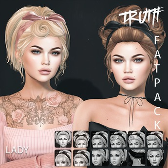 TRUTH Lady (Mesh Hair) - Fatpack