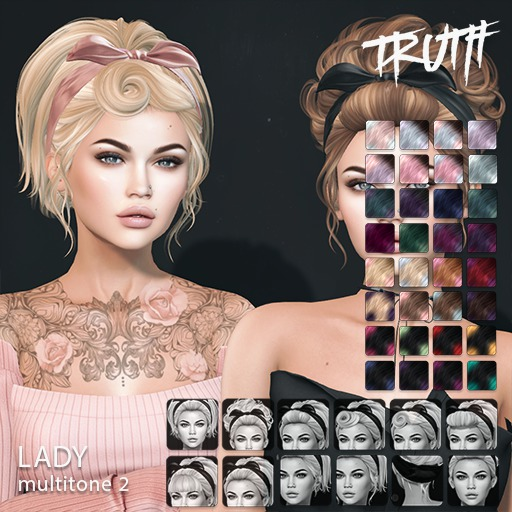 TRUTH Lady (Mesh Hair) - Multitone 2