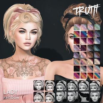 TRUTH Lady (Mesh Hair) - Rainbow