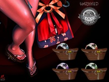 + Occult + Mayou Geta Flower (UNRRIGGED) FATPACK
