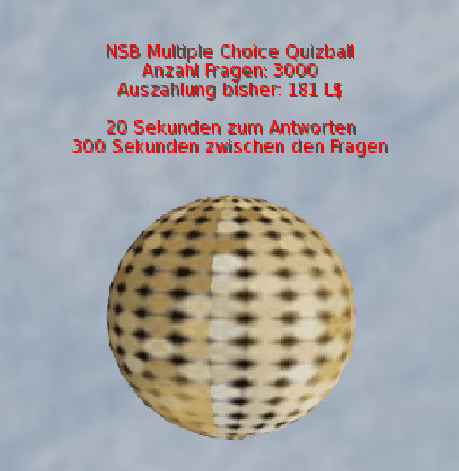 NSB Quizball MC (Paket)