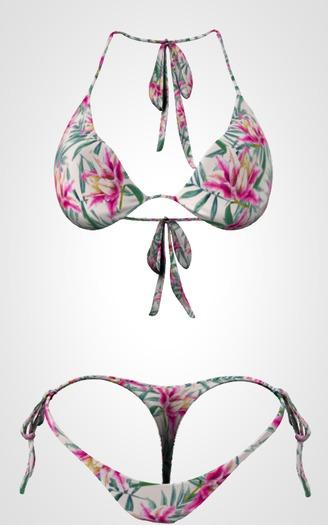 Kaithleen's Bikini - Green