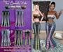 T7E: Summatime Outfit - Bright Chevrons: Set 3