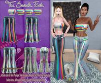 T7E: Summatime Outfit - Rainbows: Set 1