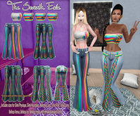 T7E: Summatime Outfit - Rainbows: Set 3