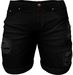 RIOT / Emery Denim Shorts - Black