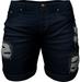RIOT / Emery Denim Shorts - Blue17s   Men's Belleza / Slink / Adam / Signature