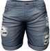 RIOT / Emery Denim Shorts - Blue56   Men's Belleza / Slink / Adam / Signature