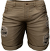RIOT / Emery Denim Shorts - Khaki