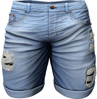 RIOT / Emery Denim Shorts - Stonewash