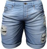 RIOT / Emery Denim Shorts - Stonewash | Men's Belleza / Slink / Adam / Signature