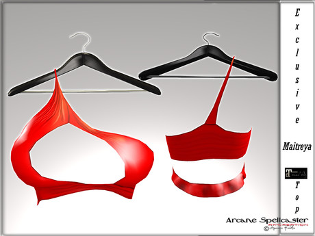 bag top Ivy red *Arcane Spellcaster* Ak-Creations